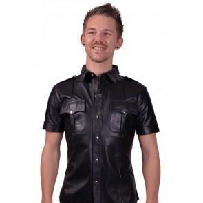 Mister B Police Shirt met korte mouwen