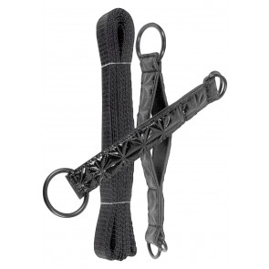 Sinful - Bed Restraint Straps Zwart
