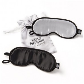 50 Shades No Peeking Twin Blindfold Set