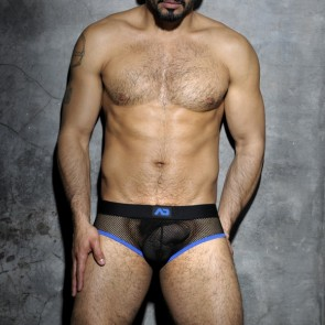 Addicted ADF02 Fetish Mesh Brief Royal Blue