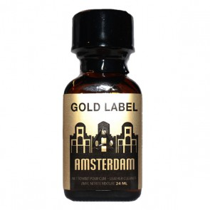 Amsterdam Gold Label Poppers - 24ml
