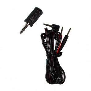 ElectraStim - Adapter Cable Kit- 3.5mm/2.5mm Jack