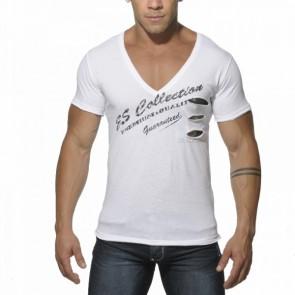 ES Pocket Camouflage T-Shirt Zwart