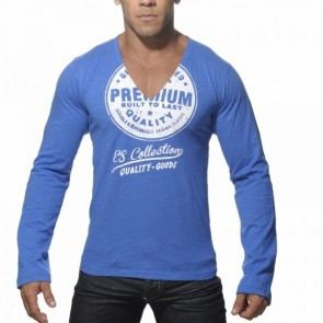 ES Longsleeve Printed T-Shirt Zwart