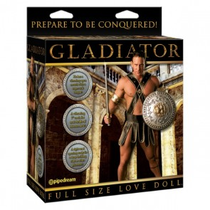 Pipedream - Gladiator Vibrating Doll
