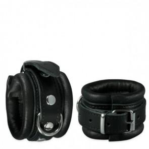 Handboeien Zwart 5 cm - Kiotos Leather