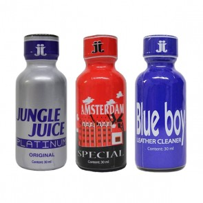 Poppers 3 X 30ml - JJ, A'dam Special, BB