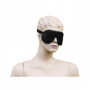Leren Oog Masker