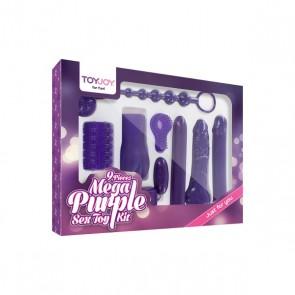 Mega Purple Sex Toy Kit Verpakt