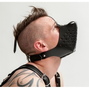 Mister B Leather Dog Muzzle