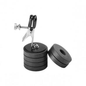 Master Series - Tepelklemmen met Magneetgewichten