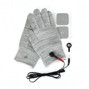 Rimba Electro Sex Handschoenen Set Uni-Polair