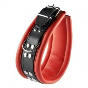 Rood Zwarte Halsband 6,5 cm
