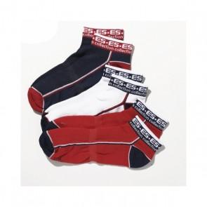 ES Collection 3 Pack Enkel Sokken