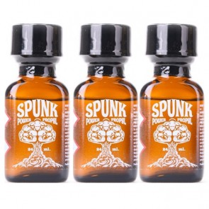 Spunk Poppers Pack - 3 x 24ml