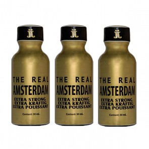 The Real Amsterdam 30 ml - 3 Flesjes