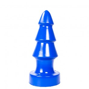Buttplug Triple Blue
