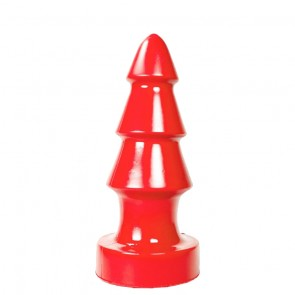 Buttplug Triple Red