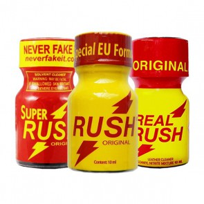 Triple Rush Poppers Pack