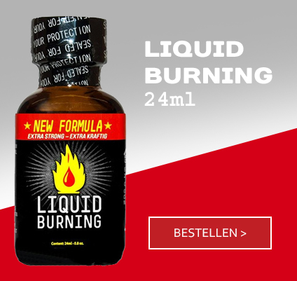 Liquid Burning Poppers - 24ml
