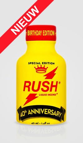 Rush Birthday Poppers 40ml